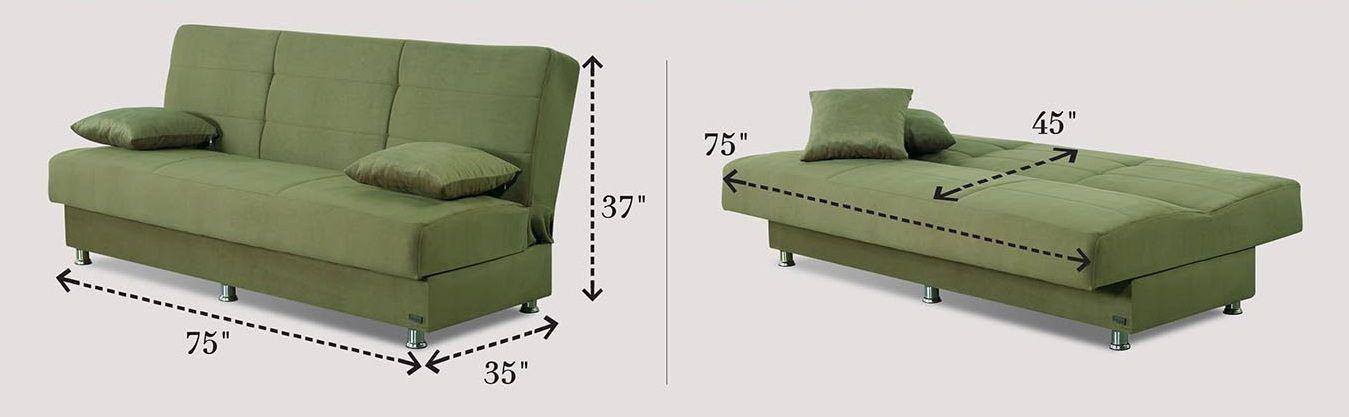 Sofa Bed Microfiber