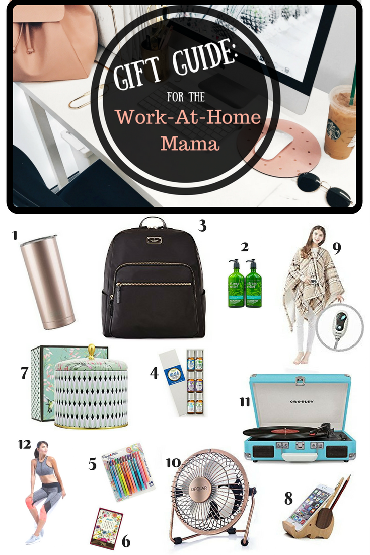 Gift guide ideas for the work at home mama. These gift ideas will ...