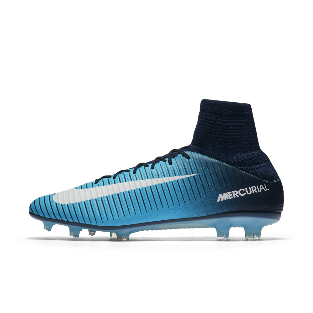 new products 3d13e 0fce4 Nike Mercurial Veloce III Dynamic Fit Firm-Ground Soccer Cleats Size 10.5  (Blue)