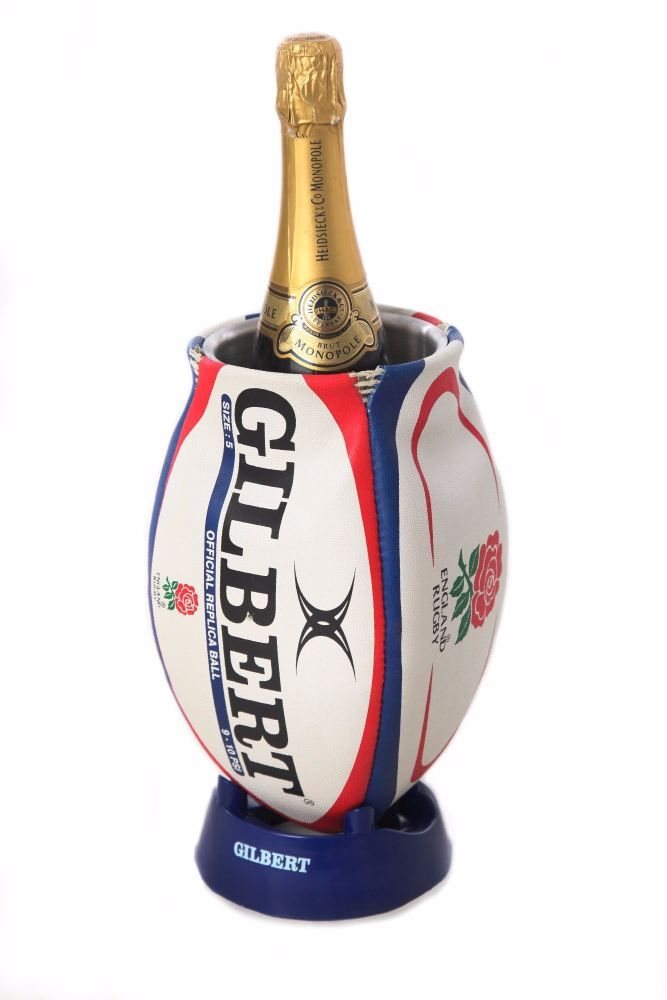 England Rugby Ball Wine Cooler Rugby Ball Rugby Gifts England Rugby