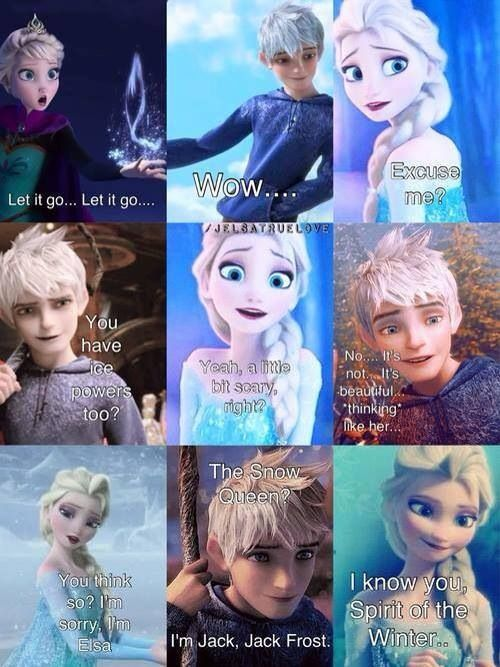 Pin By Emily Solle On Dose O Disney Jack Frost Jack Frost And Elsa Disney Funny