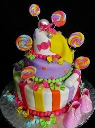 baby shower cake candy theme -