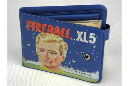 Fireball XL5 Steve Zodiac wallet 1963