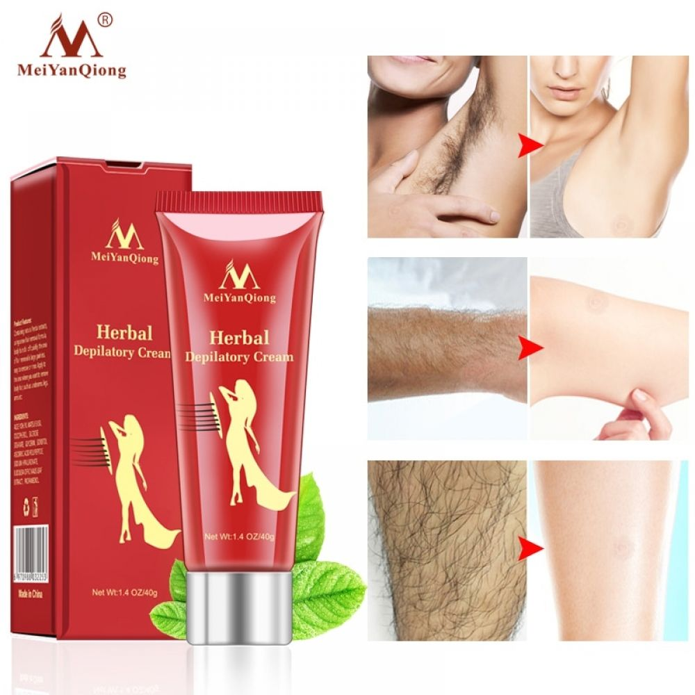 Female Male Herbal Depilatory Cream Hair Removal Painless Cream