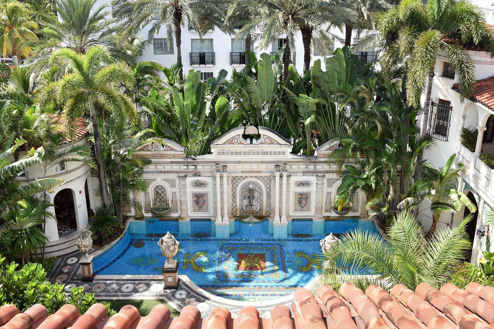 10 Secrets Of Gianni Versace S Miami Mansion Hidden Passages A