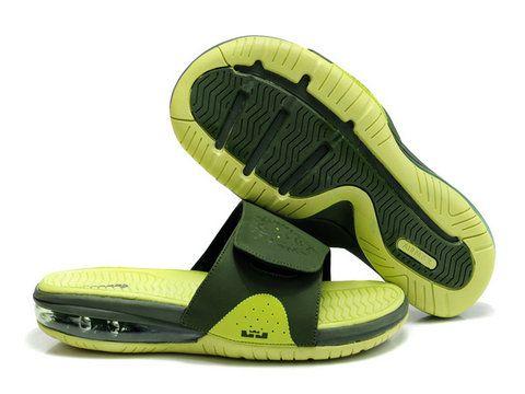 c50bddd78c732 Nike Air LeBron Slide Lime Green Jade
