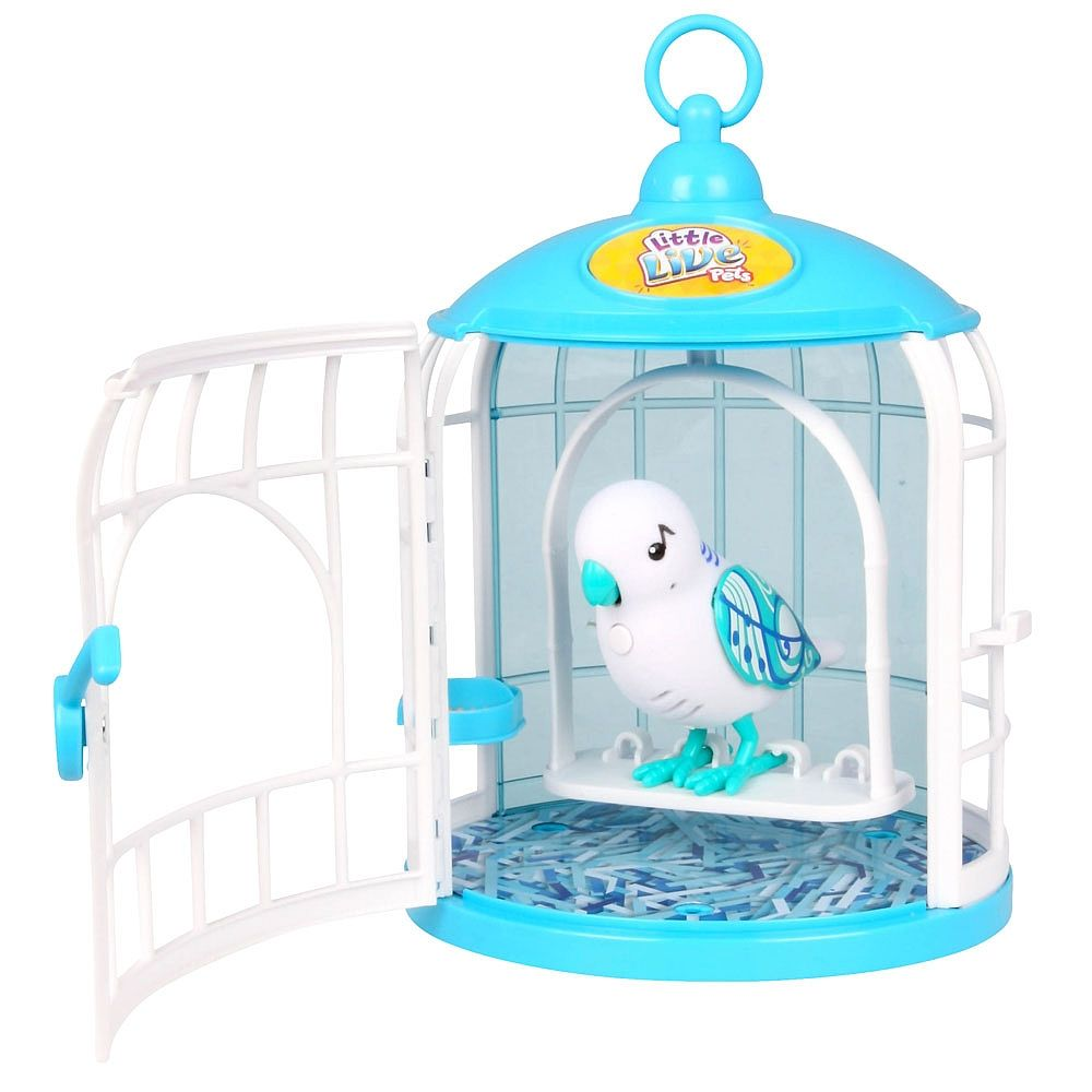 Little Live Pets Bird With Cage Singalong Sammy Red Planet