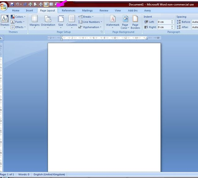 A Load Of Old Pickle How To Print Directly Onto Your Card Blank Using Word A5