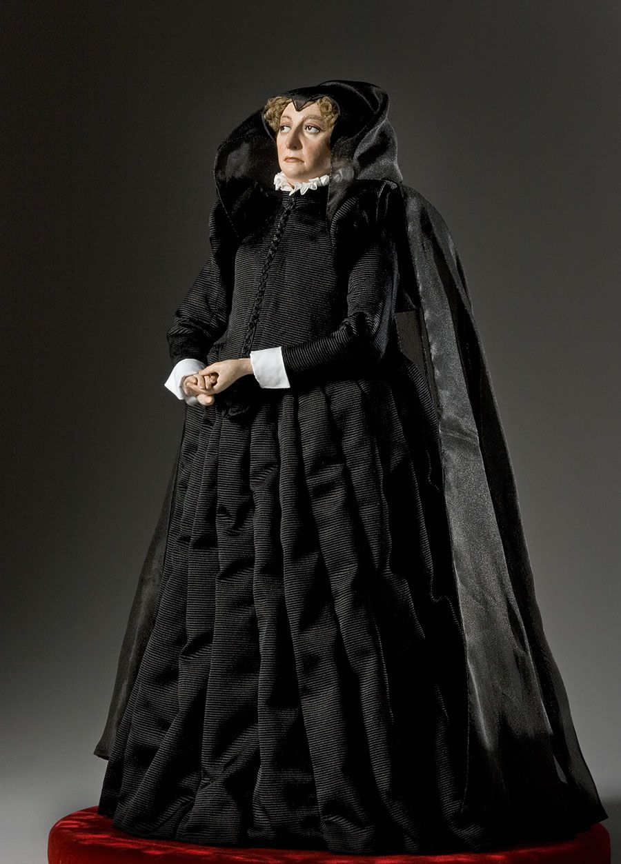The historical figure and clothing of Catherine de Medici by the artist - historian George Stuart
