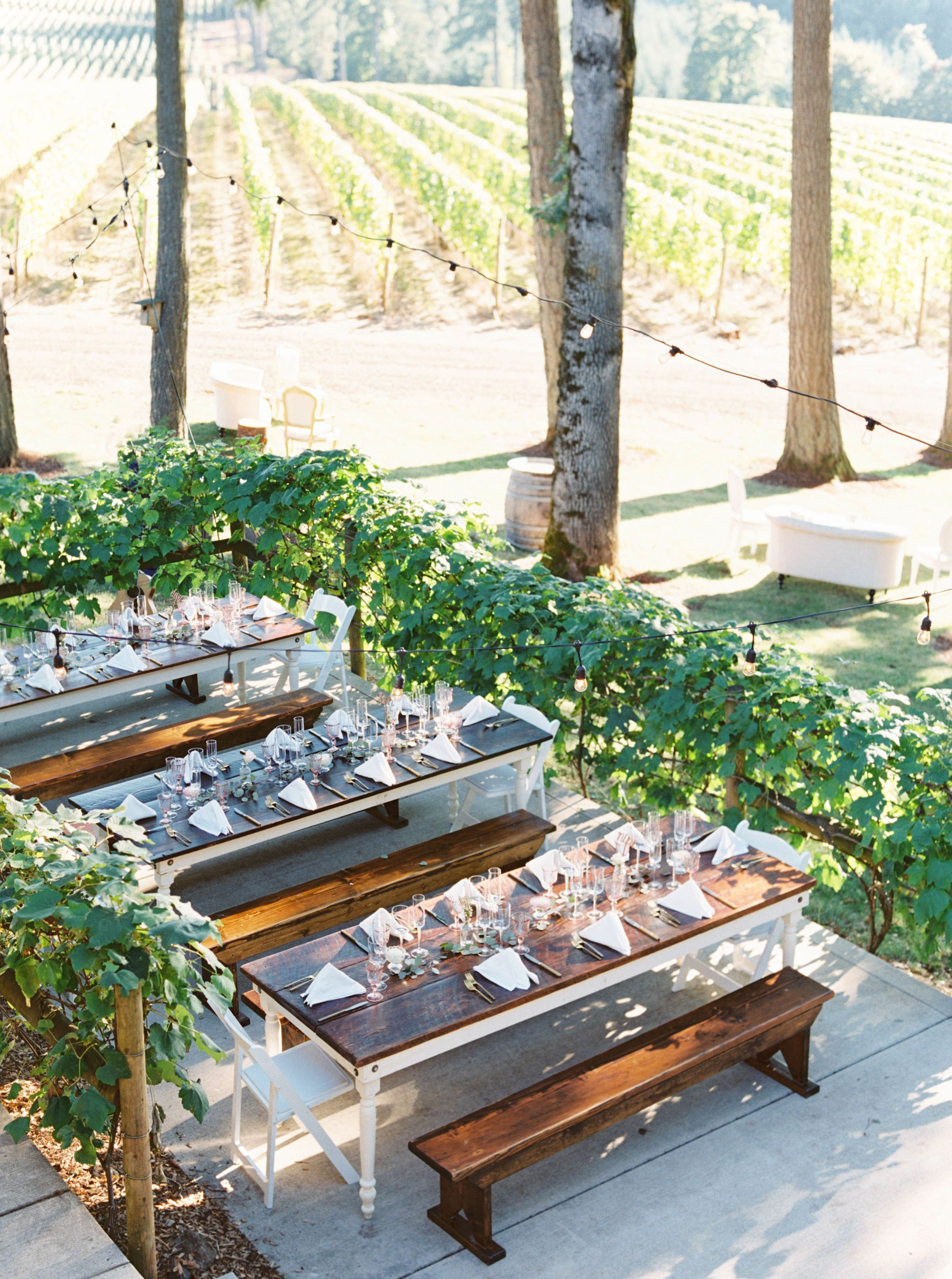 An Oregon Wedding Planned Entirely from Amsterdam