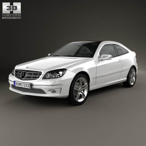 3d Model Of Mercedes Benz Clc Class Cl203 2008 Honda Fit