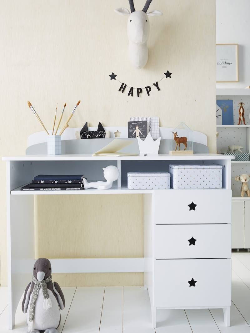 Schreibtisch Weiß Kinderzimmer 2021