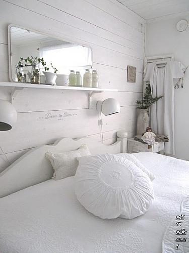 Ideas para un dormitorio de aire vintage Bedrooms Shabby and