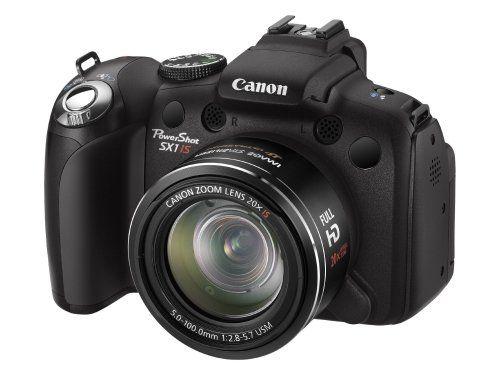 Canon Powershot Sx1 Is Digital Camera Black 10mp 20x Optical Zoom 2 8 Inch Lcd Http Www Shopeasyplus Com Canon Powersh Powershot Canon Powershot Canon