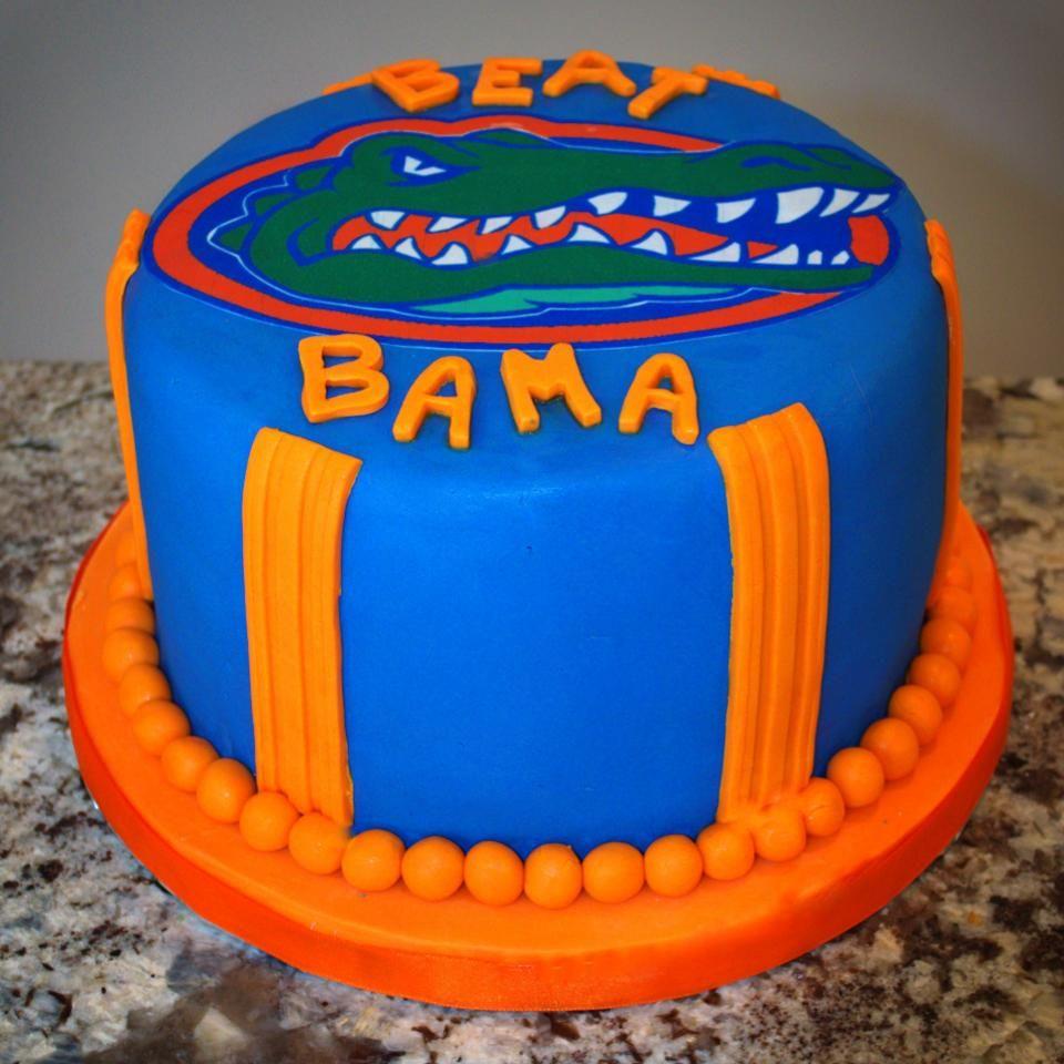 University Of Florida Gator Cake Pretty Cakes Pinterest Cake