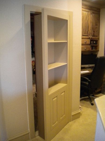 Google Image Result For Http Www Fiorenzacustomwoodworking Com Wp Content Gallery Hidden Doors