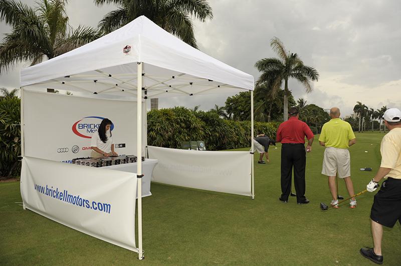 Brickell Motors Golf Tournament Tent Automotive