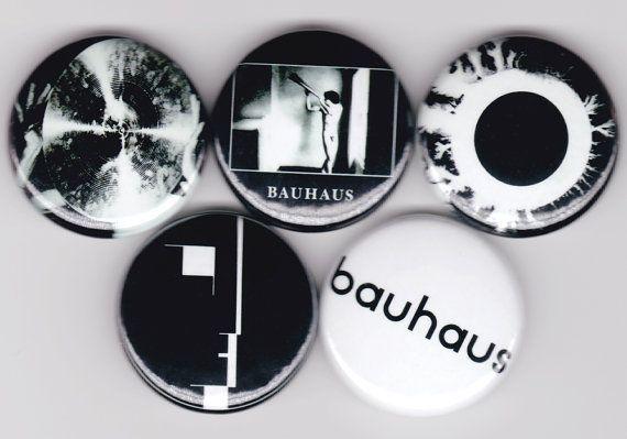 Bauhaus buttons