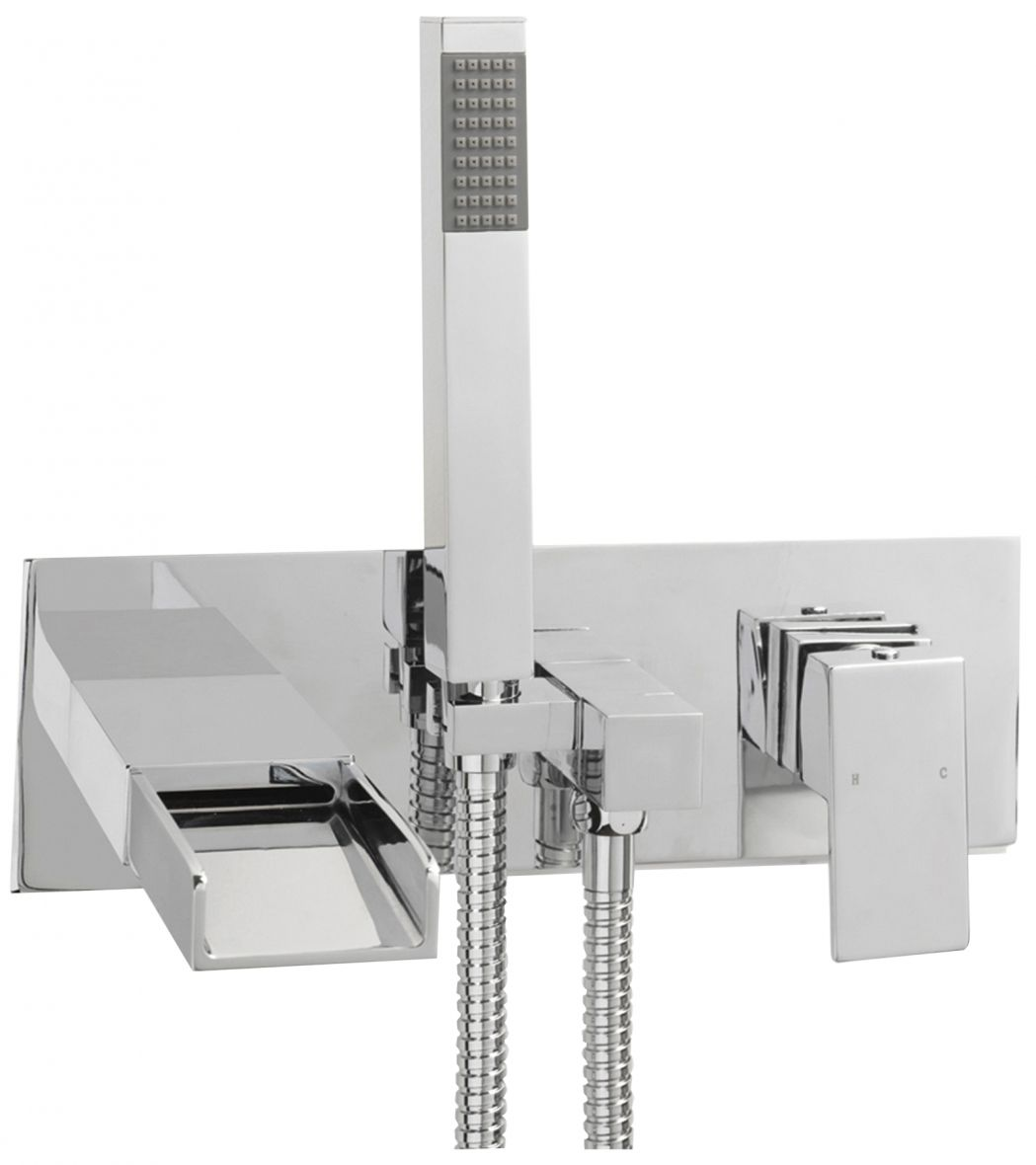 Bath Mixer Taps With Shower Attachment Bathroom Mirror Cabinet Tavistock Hype Tap And Handset