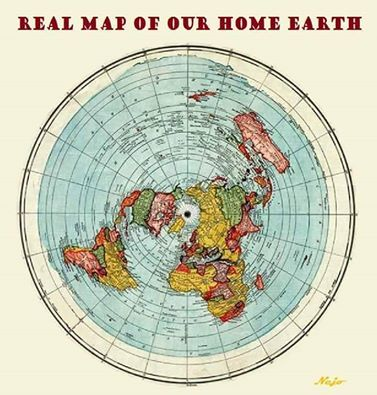 Real earth map the flat earth is real pinterest flat earth real earth map gumiabroncs Images