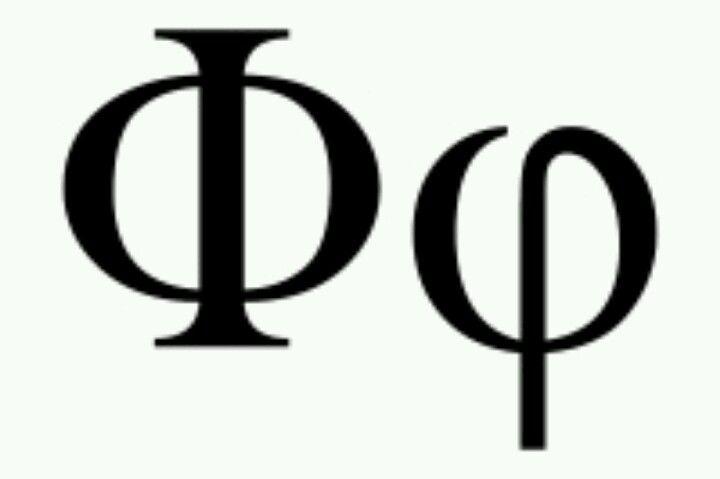 Golden Symbol The Golden Numberratio Or Fibonacci Sequence