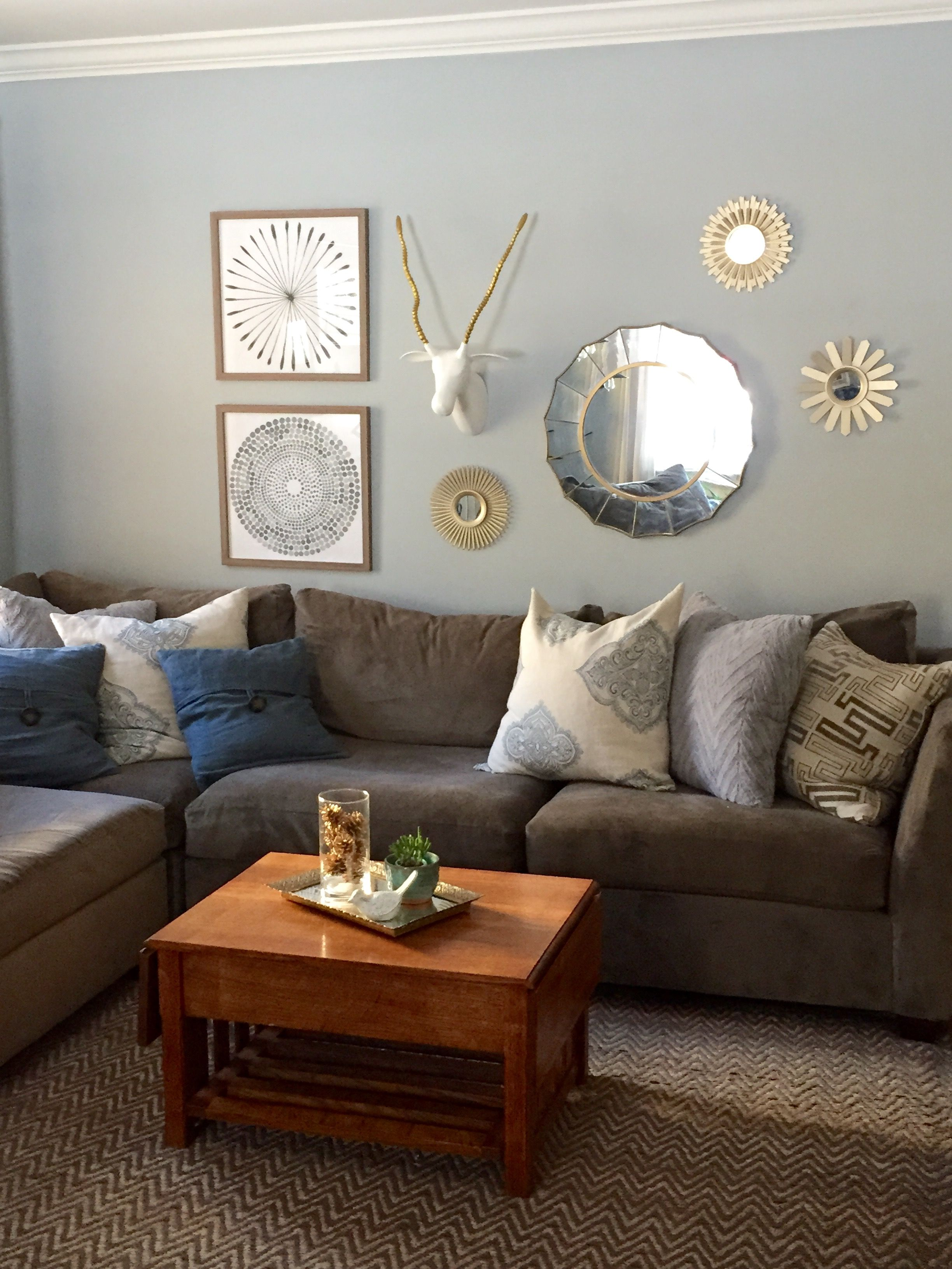 West Elm Monorail Silver   Living room paint, Living room ...