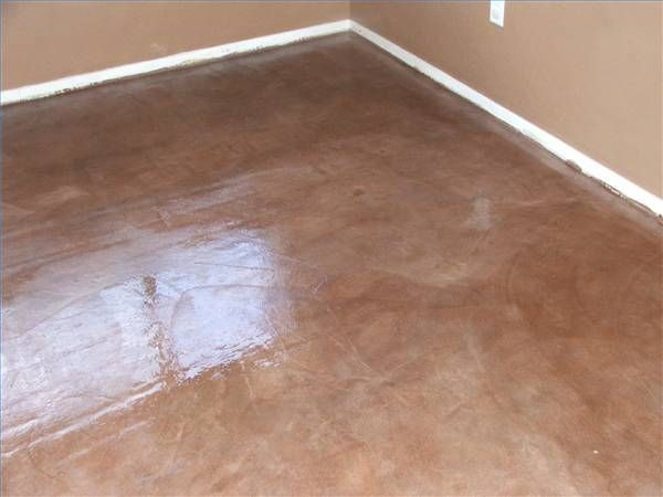 How To Stain Outside Concrete Laying Laminate Flooring