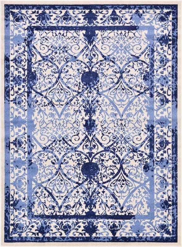 Shailene Blue Area Rug Area rugs, Blue area rugs, Rugs