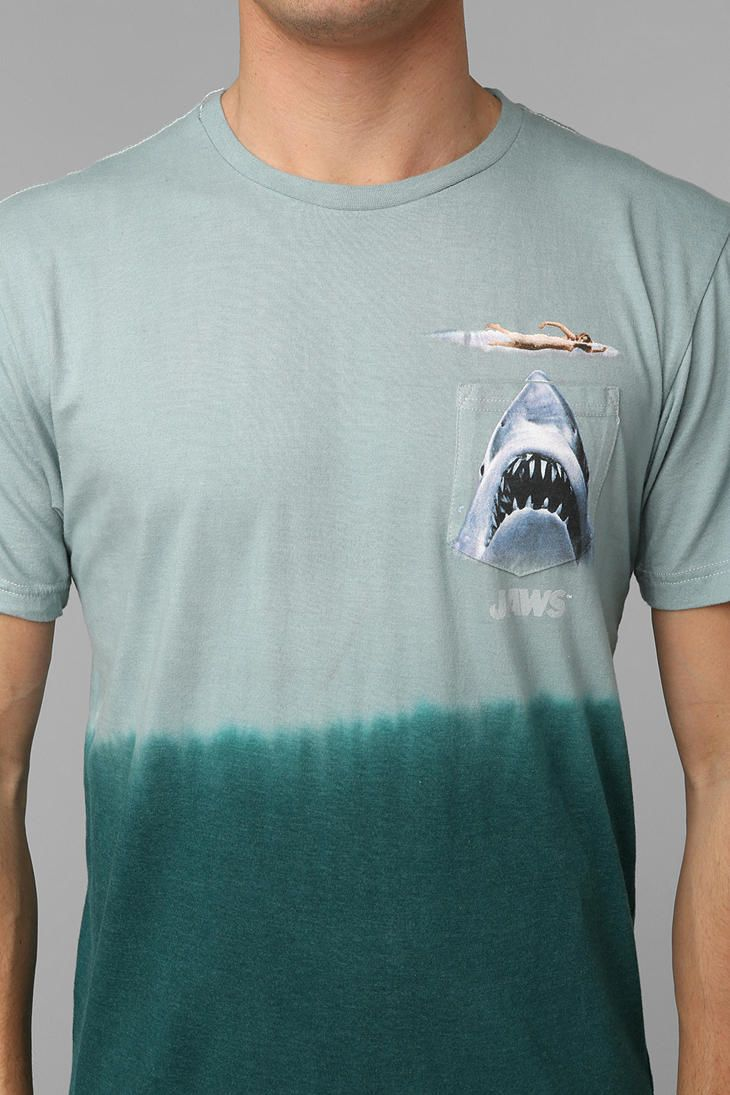 JAWS Pocket Tee #urbanoutfitters