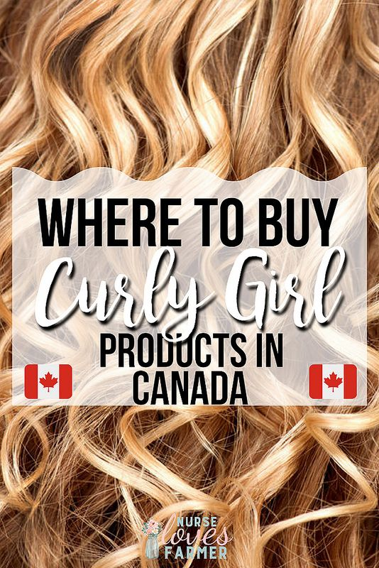 Where To Buy Curly Girl Products in Canada Curly girl