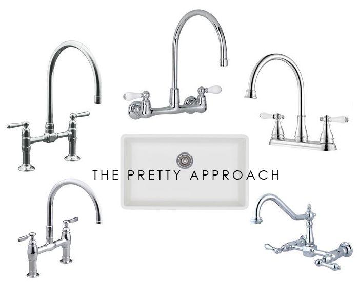 Pretty, Bridge Faucets - The Makerista
