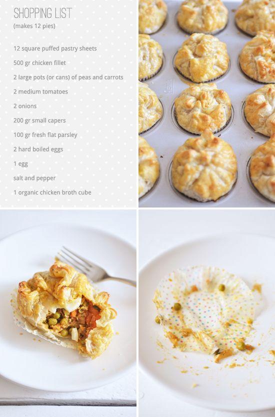 Surinamese Chicken Pies | The Yvestown Blog