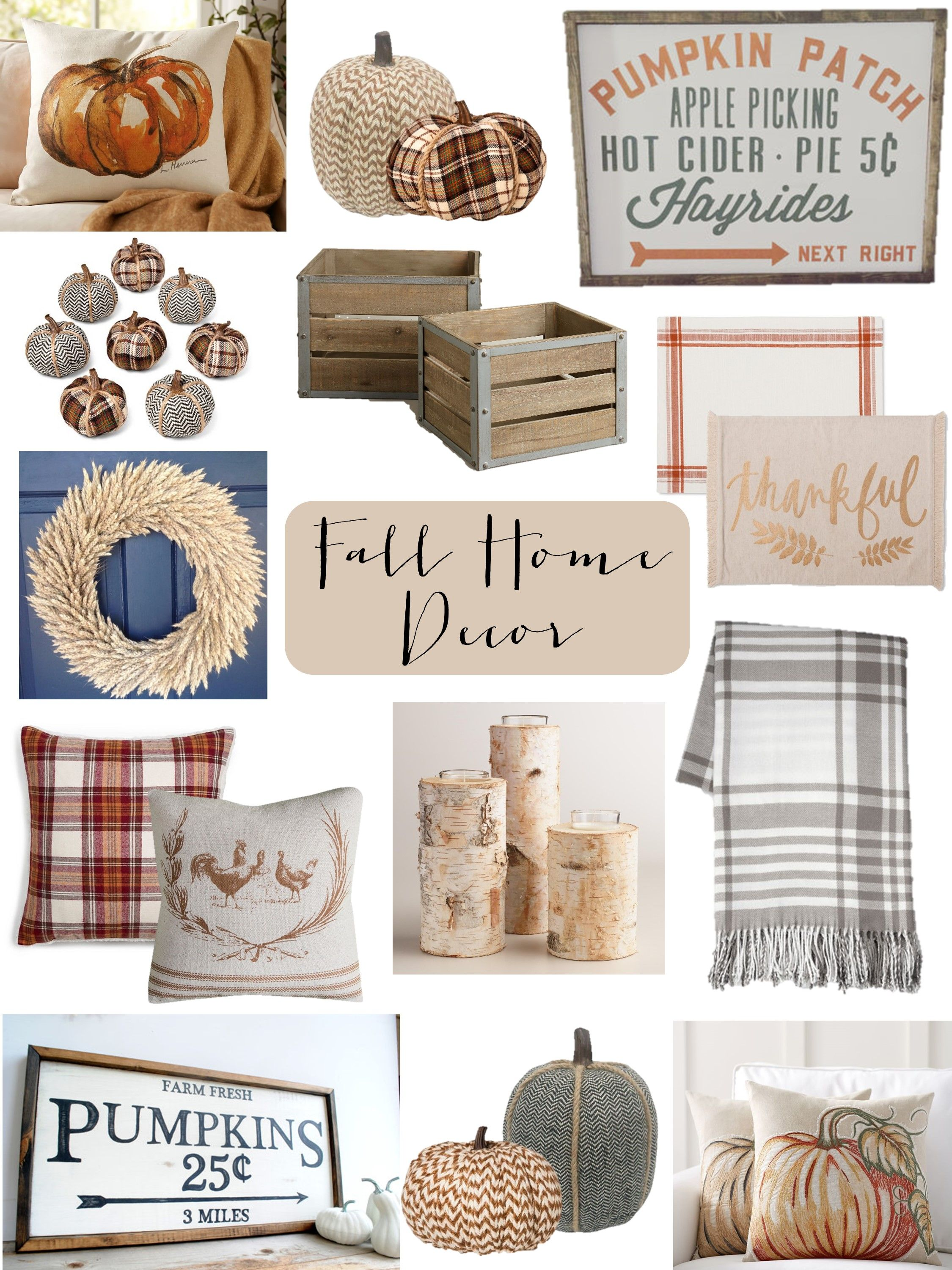 Fall is coming....get your home ready with these adorable Fall Home ...