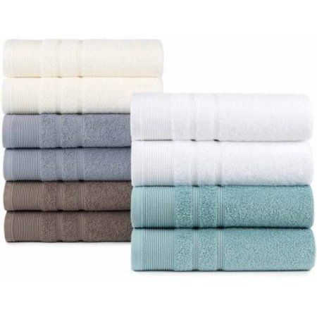 Ankara Luxury Oversized Turkish Cotton Bath Towel 2 Pack White