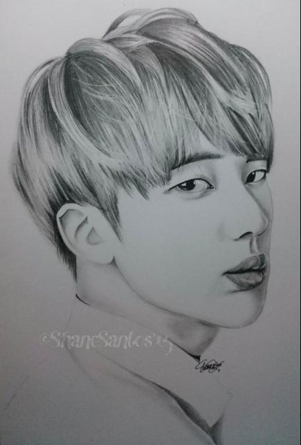 Pin By Raye Convery On Bts Drawings Bts Drawings Kpop Drawings Bts Jin