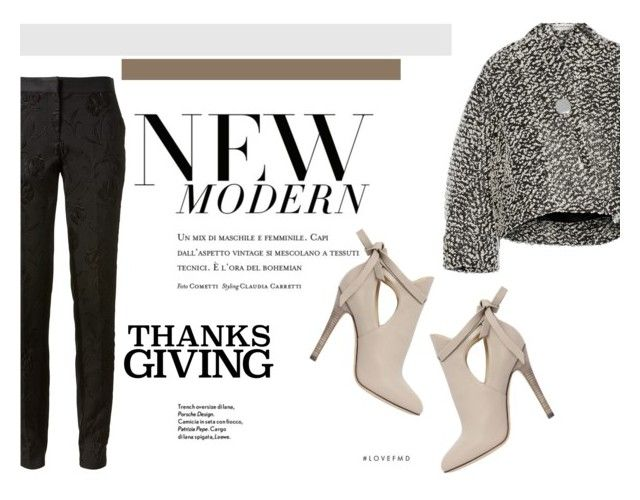 """""""Home For Thanksgiving"""" by newyorker-107 ❤ liked on Polyvore featuring Prabal Gurung, Jimmy Choo, Balenciaga, classy, highheels, thanksgiving and modelstyle"""