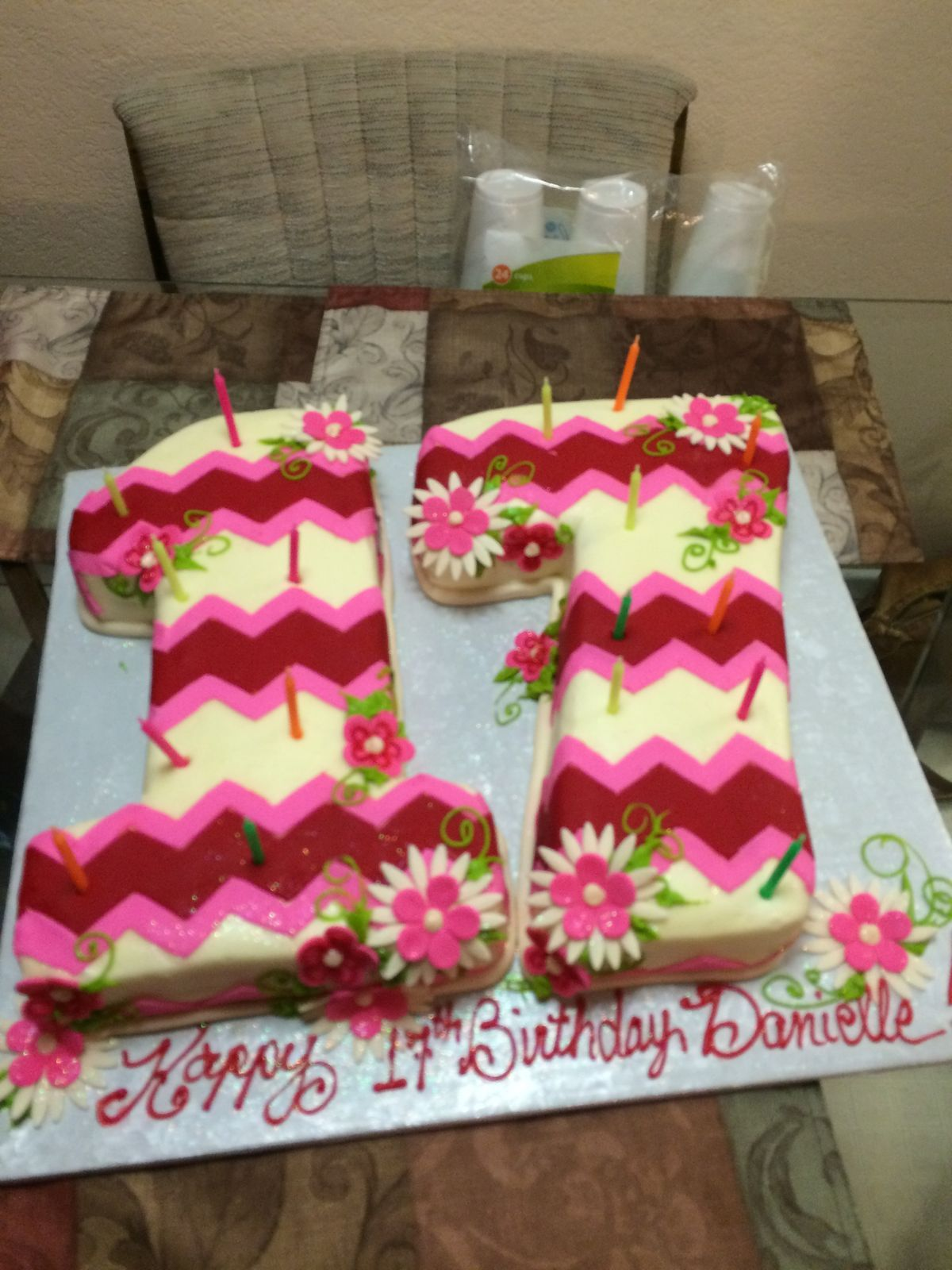 B0958c6e76818875ac9f9aba31fa63a5 1200x1600 Pixels 17 Birthday Cake 17th Ideas