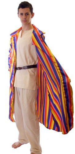JOSEPH Technicolour Dreamcoat LONG COLOURFUL COAT  ALL CHILD SIZES