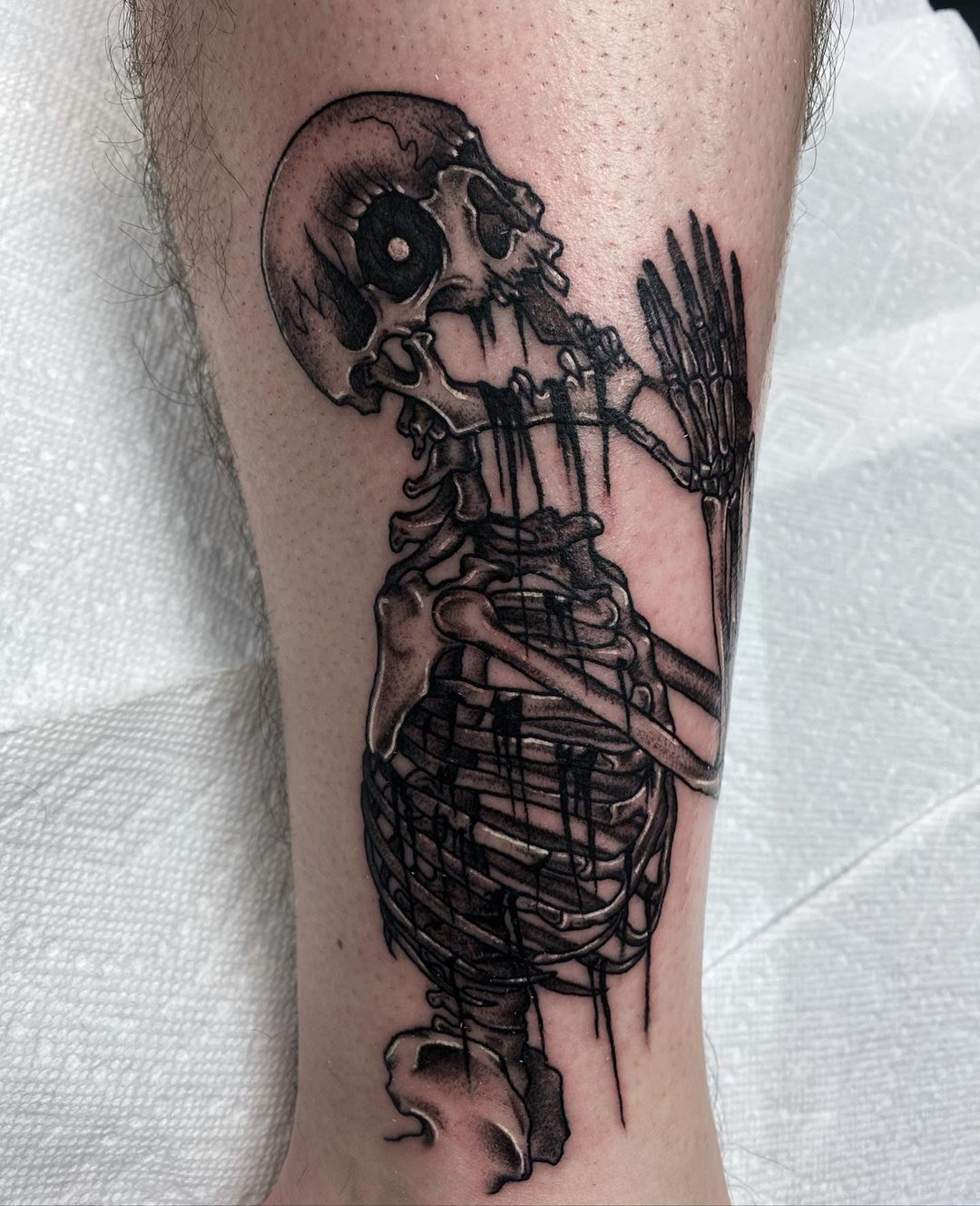 101 Amazing Skeleton Tattoo Ideas That Will Blow Your Mind