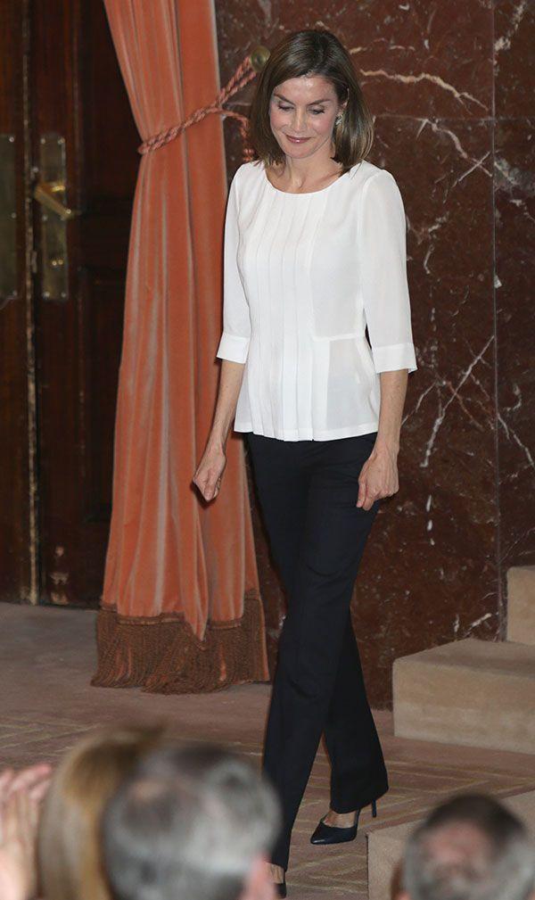 Queen Letizia of Spain attends the Rare Diseases World Day Event at Consejo Superior de Investigaciones Cientificas (CSIC) on March 3, 2016 in Madrid, Spain.