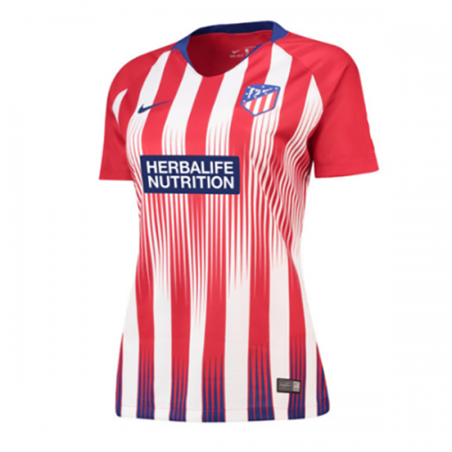18-19 Atletico Madrid Home Women s Jersey Shirt  d26179550