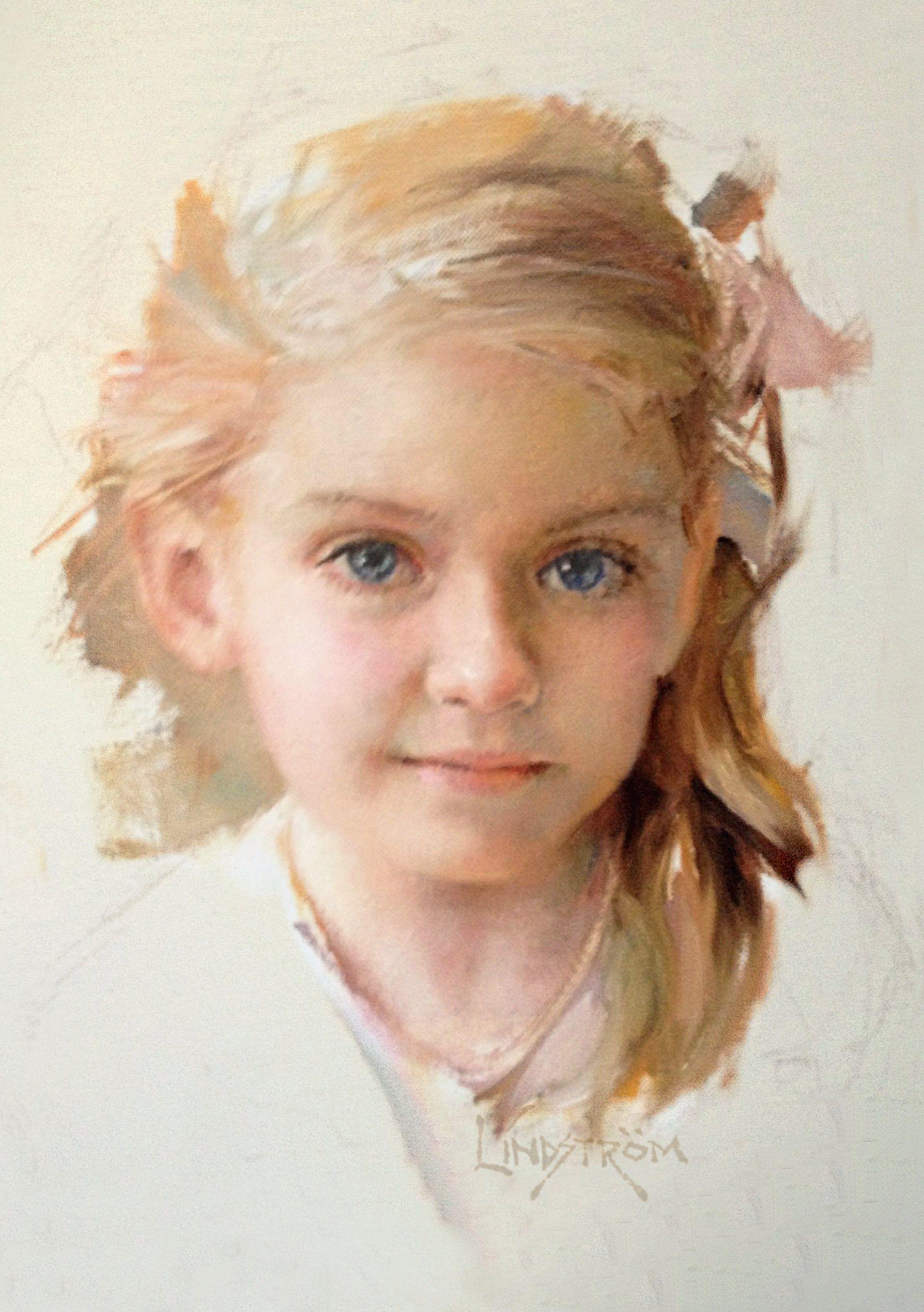 Bart Lindstrom Braze Detail Oil Painting Fine Art Sargent
