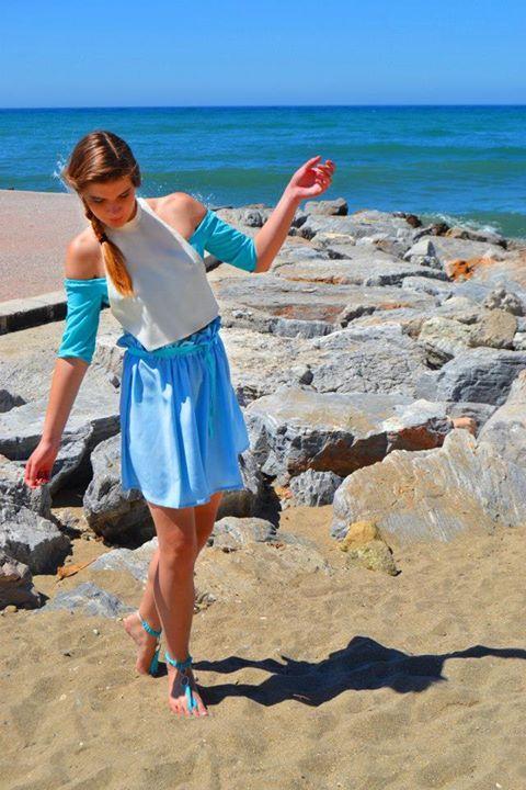 SS'14 Skirt & Top