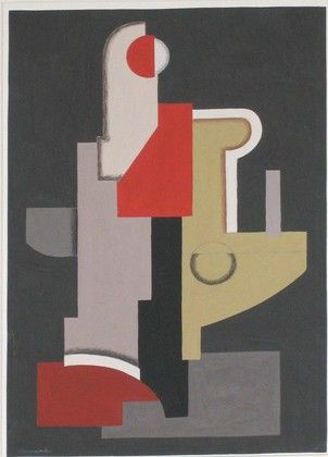 Willi Baumeister. Composition. (1922)