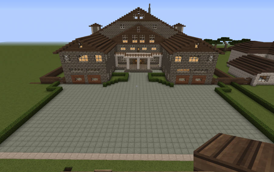 Stone Brick House, creation #4397 | Minecraft house ...