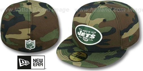 Throwback New York Jets Mesh 9Fifty Snapback Cap wood camo