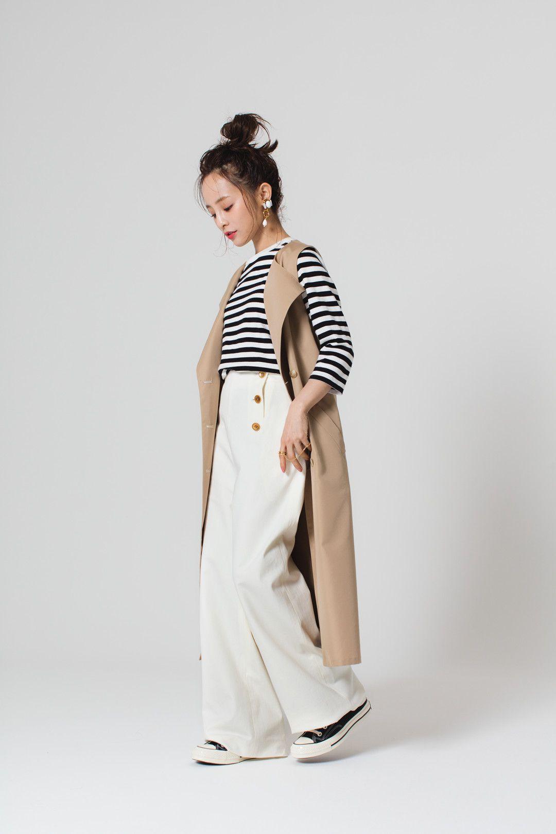 1b73dbba0a42f 小柄ながらバランスのとれた大人ファッションが注目を集める、akiicoこと ...