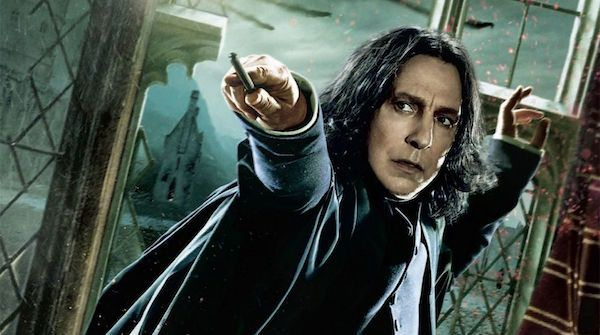 """""""The play takes Snape's redemption a step further, not only by showing him still fighting, decades after Harry has died, but by putting him in a scenario in which he has to choose between his own life and the greater good. Snape knows he's dead in the real timeline. So he has essentially nothing to gain by helping Scorpius put things right..."""" <<<< If only everyone who used to question Snape's heroism and bravery thought like THIS after reading/watching The Cursed Child!!"""