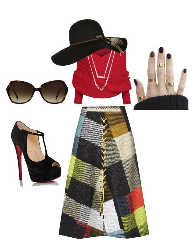 """Classic percak"" by xjuwitanf on Polyvore featuring Preen, Christian Louboutin, Burberry, Michael Kors and Billabong"