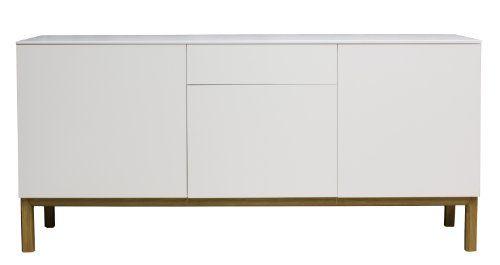 Badezimmerschrank Eiche ~ Slim schrank sideboard kommode weiß top eiche einrichtung